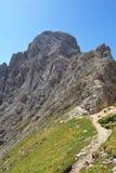 Roda di Vael - italienska Dolomites Royaltyfri Foto