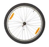 Roda dianteira da bicicleta fotografia de stock royalty free