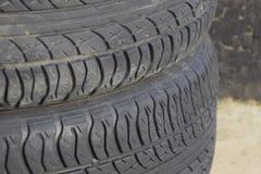 roda do automóvel Pneus de borracha Borracha do verão ajustada para o carro W Imagem de Stock Royalty Free