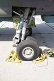 Roda do avião Fotografia de Stock