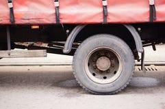 Roda do caminhão Fotos de Stock