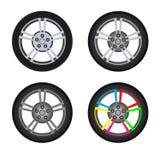 A roda do carro Fotografia de Stock