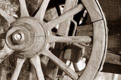 Roda do carro do cavalo fotografia de stock