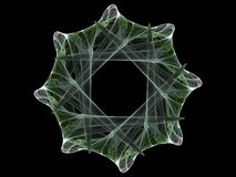 Roda do Fractal Foto de Stock Royalty Free
