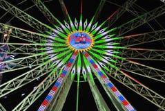 Roda do inverno-país das maravilhas Foto de Stock Royalty Free