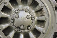 Roda do metal Fotografia de Stock