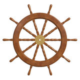 Roda do navio Fotografia de Stock