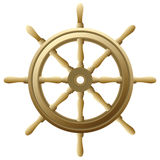Roda do navio Fotografia de Stock Royalty Free