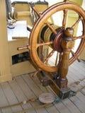 Roda do navio, Charles W. Morgan Imagem de Stock