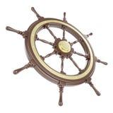 Roda do navio da ilustração Foto de Stock Royalty Free