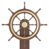 Roda do navio da ilustração Foto de Stock