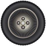 Roda do raio do carro Imagem de Stock