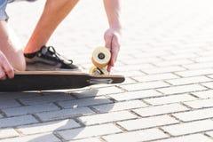 A roda do skate imagem de stock royalty free