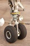 Roda dos aviões imagens de stock