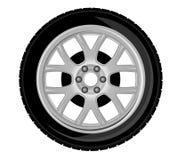 Roda e pneu Fotografia de Stock Royalty Free
