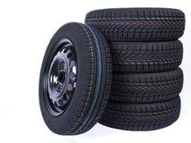 Roda e pneumáticos Imagem de Stock