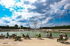 Roda grande 1 de Paris Imagem de Stock
