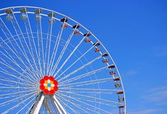 A roda grande de Prater Fotos de Stock