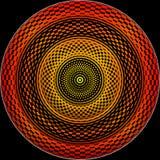 Roda hipnótica ilustração royalty free