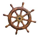 Roda isolada dos navios Imagens de Stock