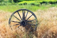 Roda ocidental velha Foto de Stock