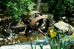 Roda oxidada Foto de Stock Royalty Free