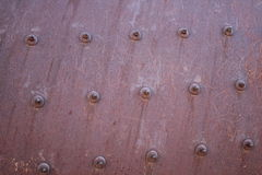 Roda oxidada do triturador da pedreira do cimento Foto de Stock Royalty Free