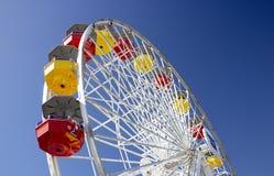 Roda pacífica em Santa Monica Pier imagem de stock royalty free