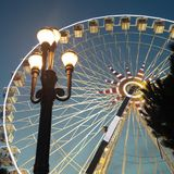 Roda panorâmico Foto de Stock