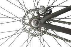 Roda traseira da bicicleta Imagens de Stock