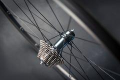 Roda traseira da bicicleta Imagens de Stock Royalty Free