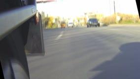 A roda traseira de uma motocicleta vídeos de arquivo