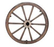 Roda velha imagem de stock