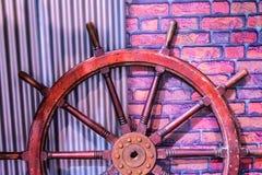 Roda velha dada forma de madeira tradicional foto de stock royalty free