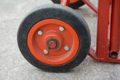 Roda velha do andaime Imagem de Stock