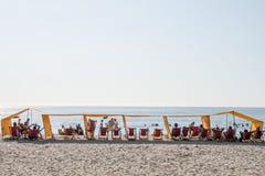 Rodadero plaża Zdjęcia Stock