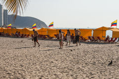 Rodadero plaża Obraz Royalty Free