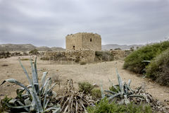 Rodalquilar, cabo de gata, Andalusia, spagna, Europa, torre dell'allume Fotografie Stock