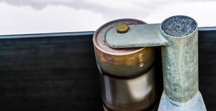 Rodamiento de bolitas de rodillo de la banda transportadora imagen de archivo libre de regalías
