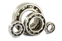 Rodamientos de bolas de acero Imagen de archivo libre de regalías