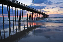 Rodanthe Pier Stock Photo