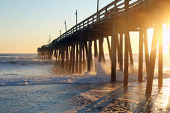 Rodanthe Pier Royalty Free Stock Images