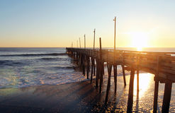 Rodanthe Pier Royalty Free Stock Photo