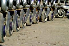 Rodas Fotografia de Stock