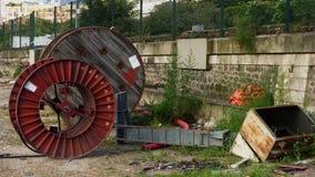Rodas abandonadas Fotos de Stock