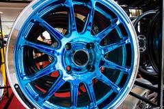 Rodas da liga do automóvel Imagens de Stock Royalty Free