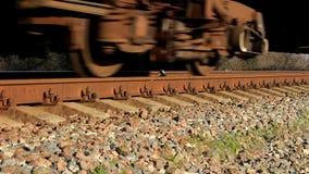 Rodas da locomotiva vídeos de arquivo