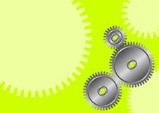 Rodas da roda denteada Foto de Stock Royalty Free