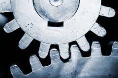 Rodas da roda denteada imagens de stock royalty free