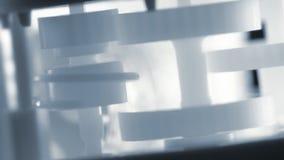 Rodas da roda denteada vídeos de arquivo